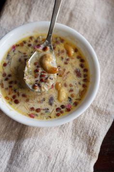 sheer khurma recipe with step by step photos - sheer khorma or sheer korma is a rich mughlai dessert of vermicelli pudding made during festive occasion of eid ul-fitr. sheer khurma is made with milk, vermicelli, Indian Dessert Recipes, Indian Sweets, Sweets Recipes, Indian Recipes, Yummy Recipes, Diwali Recipes, Recipies, Healthy Recipes, Sheer Khurma