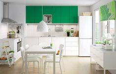 Cozinha-jardim. #cozinha #decoração #ikeaportugal