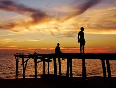 Koh Rong Sanloem - Sunset beach - Cambogia, foto di Astolfi Barbara