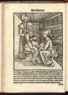 Eucharius Rösslin, Der schwangeren Frauen und Hebammen Rosegarten, 1513