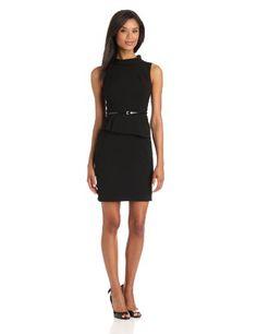Calvin Klein Women's Peplum Dress #workdresses
