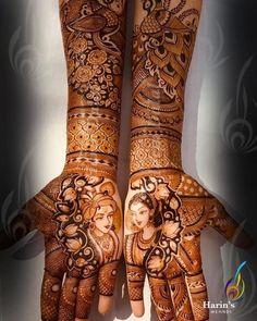 Photo By Harin's Mehndi - Mehendi Artist Wedding Henna Designs, Engagement Mehndi Designs, Latest Bridal Mehndi Designs, Latest Mehndi, Traditional Mehndi Designs, Basic Mehndi Designs, Mehndi Designs 2018, Rajasthani Mehndi Designs, Dulhan Mehndi Designs