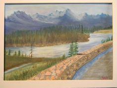 Bow River - Jasper National Park