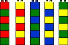 PERCEPÇÃO DAS CORES COM LEGO / BLOCOS DE MONTAR - MyKingList.com Activities For 2 Year Olds, Educational Activities For Kids, Montessori Activities, Preschool Activities, Lego Duplo, Lego Math, Toddler Learning, Preschool Learning, Modele Lego