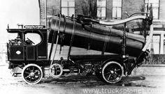 Atkinson steam sanitation lorry