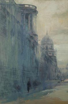 A Damp Smudge Among The Shadows  Mixed Media on Paper  31.5cm x 42cm (framed), 19 x 29cm (unframed)  Edition of 8, 2012  £190 (unframed); £250 (framed)