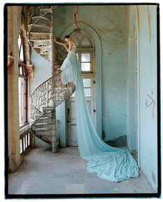 photo © Tim Walker. I kept some tear sheets from the Oct 2010 W Magazine shoot he did, and been taken in by other images of his since without knowing they were all by the same person. happy to find his website!
