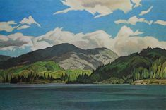 Casson, Casson's Lake, Canadian Group of Seven Group Of Seven Art, Group Of Seven Paintings, Canadian Painters, Canadian Artists, Most Famous Artists, Arches Paper, National Art, Mural Art, Light Painting
