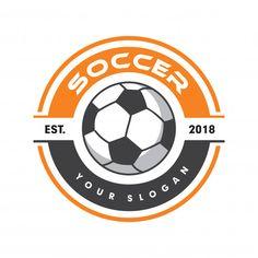 Soccer logo, sport logo, football logo P. Logo Football, Free Football, Football Design, Football Soccer, American Football, Sport Logos, Soccer Pro, Rugby, Jaguar