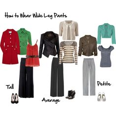 How to Wear Wide Leg Pants by imogenl on Polyvore