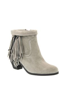 Shoes   50% off of select Sam Edelman, Vince Camuto, Cole Haan and more.Prices as marked   Louie Fringe Suede Bootie   Hudson's Bay