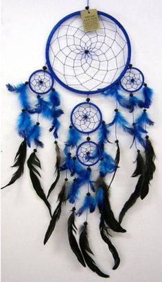 Blue dreamcatcher -