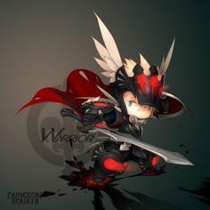 Dungeon Striker - Warrior male / from Dungeon Striker fansite kit