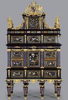 Badminton cabinet Florence 1720/1732. It was sold in 2004 for 36 million dollars[1545x2248]