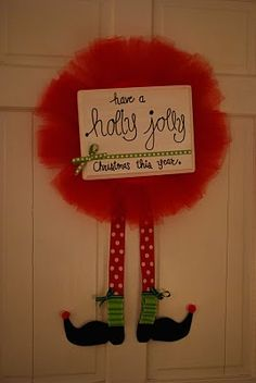 Have a holly jolly Christmas this year. Merry Little Christmas, Christmas Door, All Things Christmas, Winter Christmas, Christmas Holidays, Christmas Ideas, Happy Holidays, Holiday Wreaths, Christmas Decorations