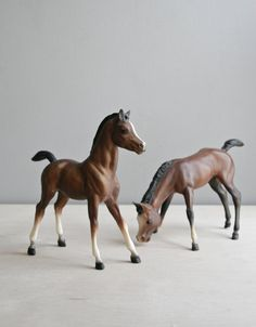 breyer horses / I have boxes of Breyer horses.
