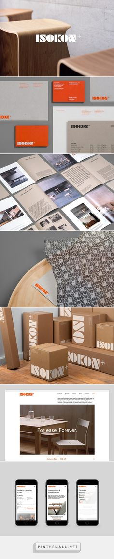 Isokon Plus by dn&co. — The Brand Identity - created via https://pinthemall.net