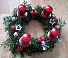Tales from a Buttonhole: Adventní věnec / Advent Wreath