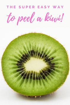 Do you struggle with peeling a kiwi? Here is my quick and easy way to get it done! Tips Healthy Fruits, Healthy Eating Recipes, Healthy Eats, Learn To Cook, Food To Make, Leadership Strengths, Mental Health And Wellbeing, Fruit Photography, Low Calorie Snacks
