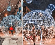 25 Instagrammable Christmas Spots in London - The Travelling Frenchy Christmas Arch, London Christmas, Christmas Shows, Christmas Travel, Christmas Baubles, Christmas And New Year, Christmas Lights, Christmas Time, Holiday