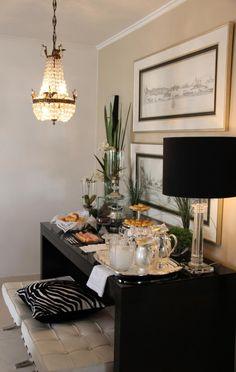 lanche na mesa bar | Anfitriã como receber em casa, receber, decoração, festas, decoração de sala, mesas decoradas, enxoval, nosso filhos