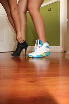 Sneakerhead But Still Can Be Girly ♡ ..