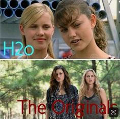 The Vampire Diaries, Vampire Diaries Wallpaper, Vampire Diaries The Originals, Phoebe Tonkin, Bonnie Bennett, Rikki H2o, Friends Phoebe, H2o Mermaids, The Originals Tv