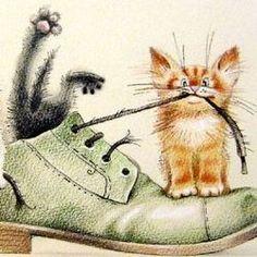 Были у хозяина любимые ботинки...