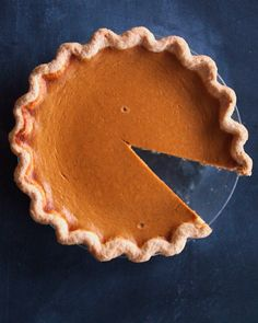 Perfect Pumpkin Pie   Martha Stewart Living - Canned pumpkin puree is quick and easy to use. Don't substitute fresh pumpkin puree; it will be too watery.