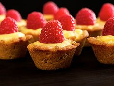 Bite-size Paleo Lemon Raspberry Cups Recipe - To make low carb use your favorite Sugar Free Sweetener instead of honey. I use Nature's Hollow Sugar Free Honey Substitute.