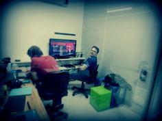 Laboratório de Ideias na madrugada
