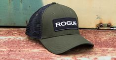 Classic Rogue trucker hat with Rogue Patch logo. One size fits all. Get more 75368a4937b8