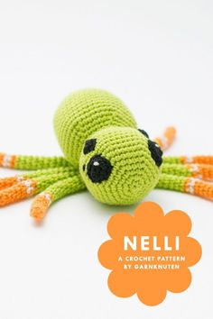 Crochet amigurumi spider pattern | Garnknuten | Make this super cute amigurumi spider with this easy to follow crochet pattern. Perfect for halloween! 7 Zip, A Hook, Crochet Hook Sizes, Finger Weights, Body Size, Crochet Toys, Hand Towels, Kids Toys, Spider