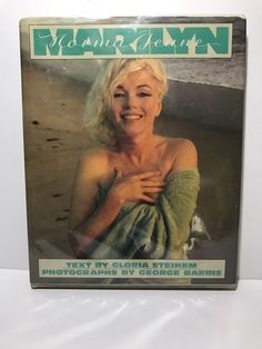 Marilyn/Norma Jean by Gloria Steinem & George Barris HC Some Discoloration Spots  | eBay
