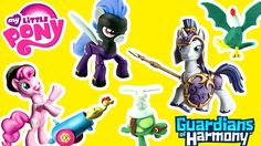 We check out the My Little Pony MLP Guardians of Harmony MLP Toys with Pinkie Pie Shining Armor Shadowbolts and Rainbow Dash! These My Little Pony Friendship is Magic toys also had Tank and Cockatrice.  The #MyLittlePony #MLP #Toys in this video are #PinkiePie #Rainbowdash #ShiningArmor and #Shadowbolts  The Toy Bunker is a toy review channel featuring fun kids toys like Transformers Shopkins Disney Cars Legos Monster Jam Monster Trucks and My Little Pony. We also love featuring and…