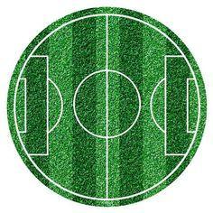 J Ossorio Papercraft Papercraft Recortable De Un Campo De Futbol