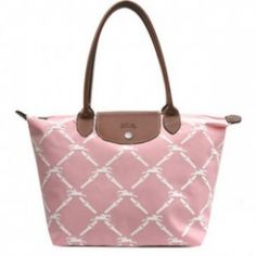 Longchamp-Grid-Bags-Light-Pink