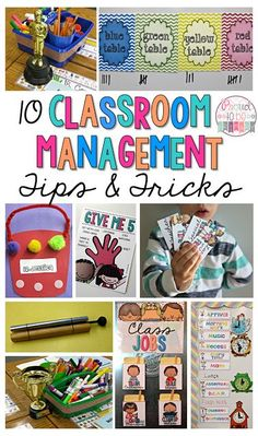 Great blog post with different ideas for classroom management