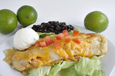 Butter With a Side of Bread: Honey Lime Chicken Enchiladas.........YUM!