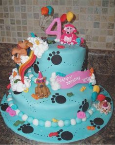 party pups cake