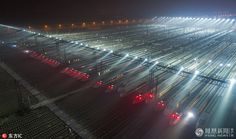"""""""High-speed trains in central China's Wuhan get ready for the """"world's biggest human migration"""", China's Spring Festival travel rush"""""""