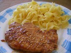Côte de porc sauce soja