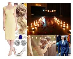 """Going out for a romantic night of dinner and dancing and being completely surprised with a proposal"" by josephineofbaden ❤ liked on Polyvore featuring Coast and L.K.Bennett"