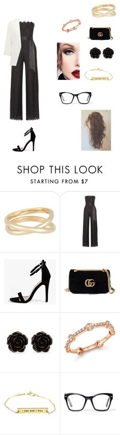 """Day Out 182"" by soso-red ❤ liked on Polyvore featuring Maison Margiela, Rachel Zoe, Boohoo, Gucci, Erica Lyons, Bloomingdale's, Spitfire and Forever New"