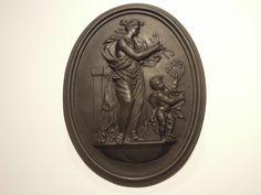 Wedgwood, Klassizismus, Black Basalt, Relief / Plakette de.picclick.com