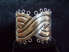 William Spratling Vintage Mexican Silver Cuff Bracelet