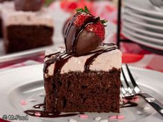 Cupid's Chocolate Cake - Perfect for Valentine's Day!