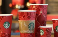"""The red cups have taken on almost a cultural role, at least in the US, and now in a lot of other markets around the world as well. When the..."