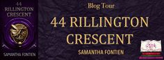 Blog Tour - 44 Rillington Crescent by Samantha Fontien    Blog Tour - 44 Rillington Crescent - Samantha Fontien  Book - 44 Rillington Crescent  Author - Samantha Fontien  Blog Tour - 14th - 21st October  Hosted by Hooked on books & Cherry0Blossoms Promotions  44 Rillington Crescent  Im calculating like most women... Except... Im no ordinary woman...  Im emotionally damaged And I accept that hell I embrace it.  Im a lost soul I dont do Love in any shape or form well I didnt think I did until…