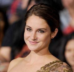 Shailene Woodley actrice Divergente Nos étoiles contraires